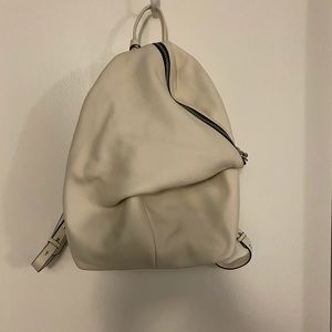 NWT VINCE CAMUTO GIANI BACKPACK WHITE LEATHER $258
